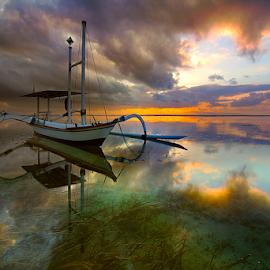 my Jukung by Nghcui Agustina - Transportation Boats