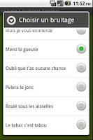Screenshot of La boite à bruitages