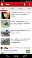 Screenshot of Calgary SUN+
