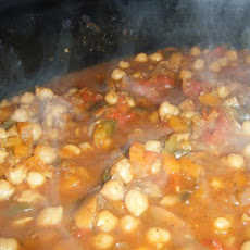 Slimming World Friendly Chickpea and Vegetable Stew
