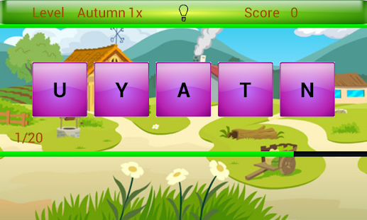 Game word scramble free apk for windows phone android for Window unscramble