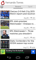 Screenshot of Chelsea FC News