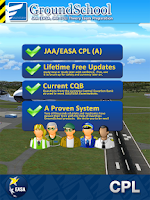 Screenshot of JAA CPL Test Prep GroundSchool