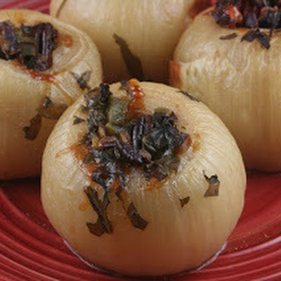 CrockPot Stuffed Onions