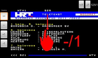 Screenshot of HRT Teletekst