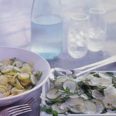 Summer-Squash Salad with Herbs and Pecorino Fresco