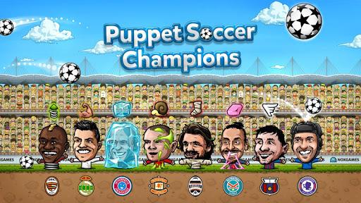 Puppet Soccer Champions 2014 - screenshot