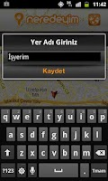 Screenshot of Neredeyim