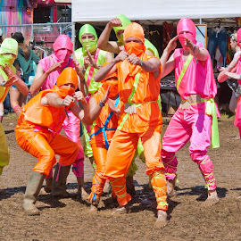 Ninja Group by Bob Smith - People Group/Corporate ( colour, dwain pipe imagery, iow, festival, bob smith, colorful, mood factory, vibrant, happiness, January, moods, emotions, inspiration )