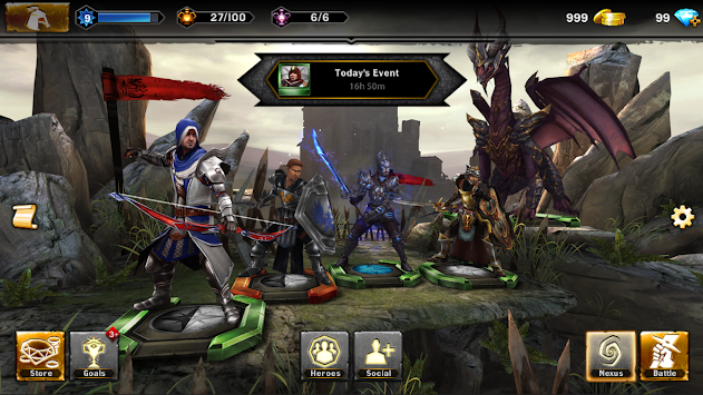 Heroes Of  Dragon Age APK screenshot thumbnail 14