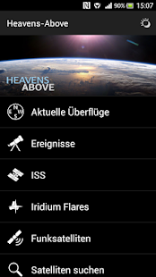 Heavens-Above Pro Screenshot