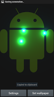 Screenshot of Magic Lights Live Wallpaper