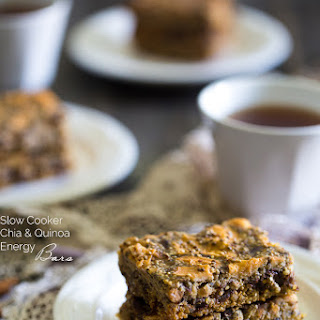 Slow Cooker Quinoa Energy Bar