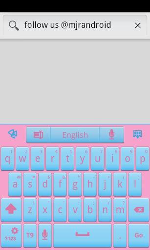 Cotton Candy GO Keyboard Theme