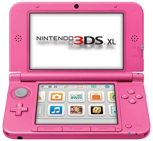 UK to get a Pink 3DS XL