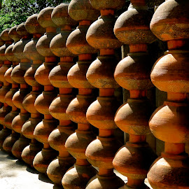 WALL POTS by Doug Hilson - Artistic Objects Other Objects ( ceramic, india, pots, wall )