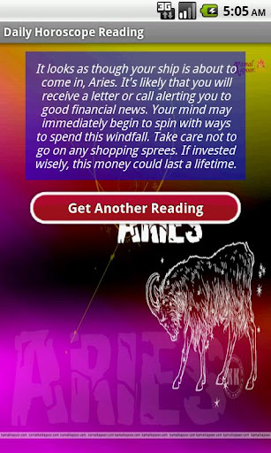 best-daily-horoscope-reading for android screenshot