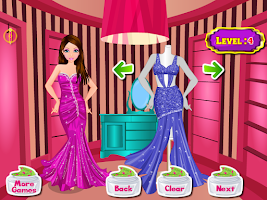 Screenshot of relaxing salon girls games