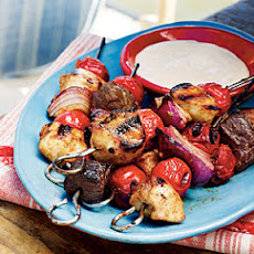 Smoky Chicken Barbecue Kabobs
