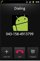 Screenshot of teleChat App
