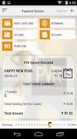 Screenshot of PVR Cinemas