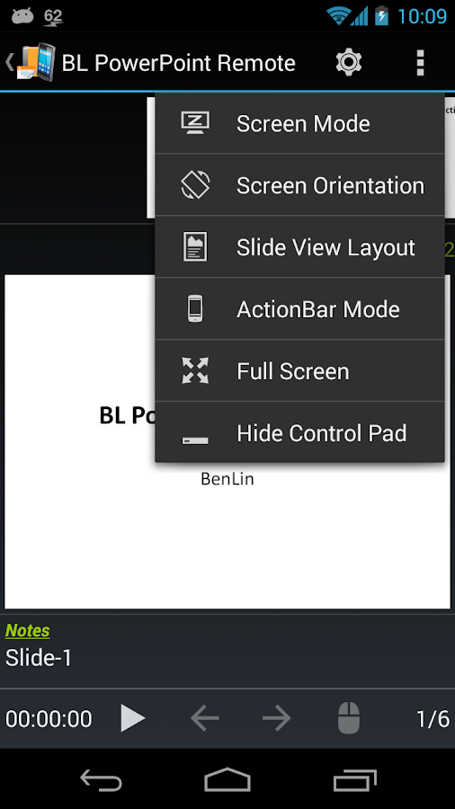BL PowerPoint Remote - Free Screenshot 5