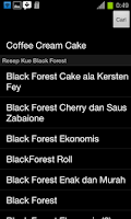 Screenshot of Resep Kue (700-an Resep)