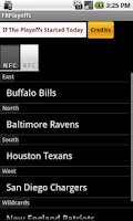 Screenshot of Football Playoff Calculator