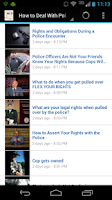 Screenshot of Know Your Rights