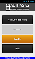 Screenshot of Authasas Smart Authenticator