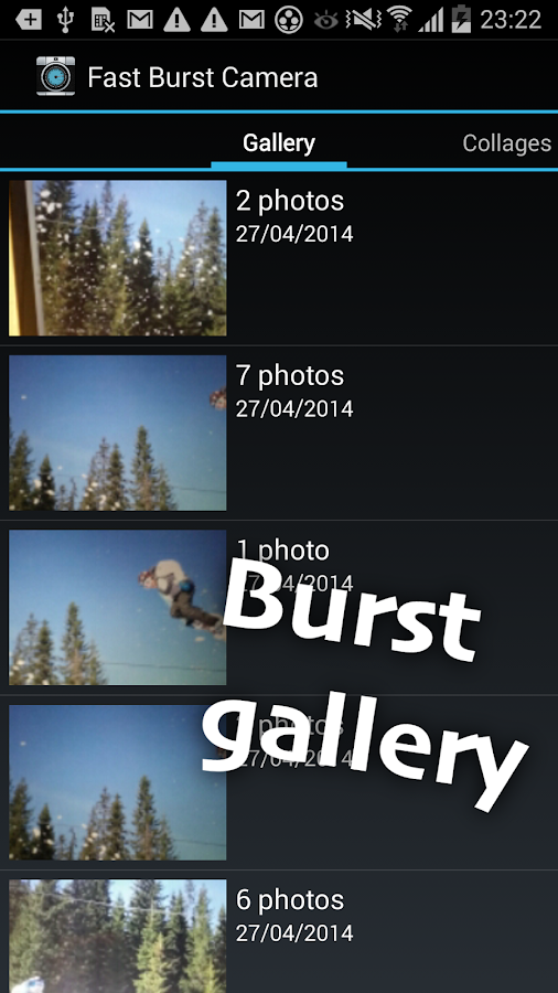 Fast Burst Camera Screenshot 4