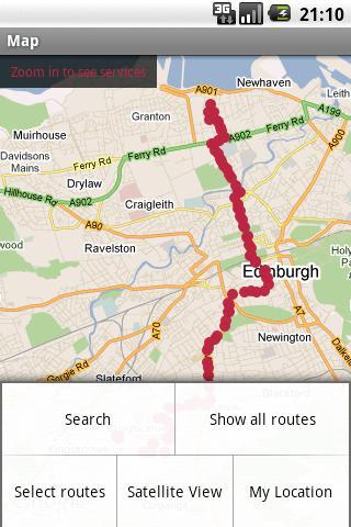 Edinburgh Bus Tracker
