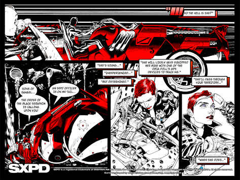 SXPD The Comicbook Game Hybrid apk screenshot