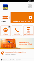 Screenshot of Itaú