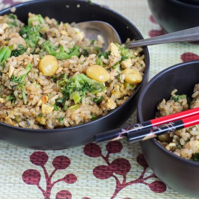 Fried Rice with Gingko Nuts