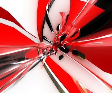 3D Abstract Wallpapers - screenshot