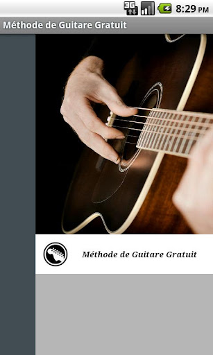 Leçons gratuites de guitare
