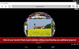 Screenshot of Photon Flash Player & Browser