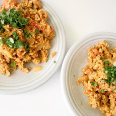 Indian Spicy Scrambled Eggs