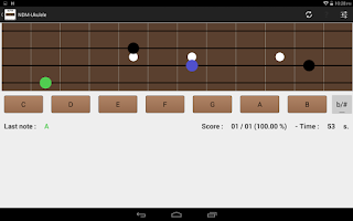 Screenshot of NDM-Ukulele (Music Notes)