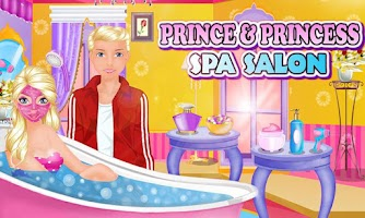 Screenshot of Prince and Princess Spa Salon