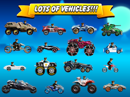 Screenshot of Hill Racing: Endless Climb