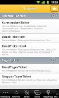 Screenshot of FahrInfo Stuttgart