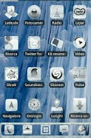 Screenshot of ADW IceD Glass Theme Pro