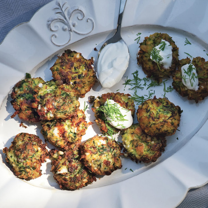 Zucchini Keftedes With Feta And Dill Recipes — Dishmaps