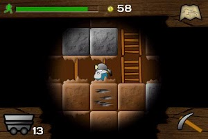 Screenshot of Gem Miner: Dig Deeper