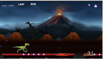 Screenshot of End OF Era - Dinosaur Run