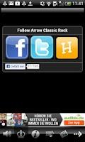 Screenshot of Arrow Classic Rock