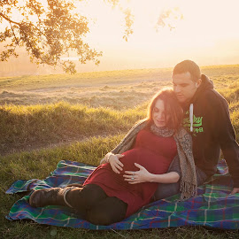 by Kayleigh Tocock-McCaw - People Maternity ( love, pregnant, couple, landscape, portrait )