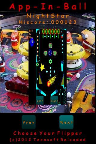 App-In-Ball Pinball Simulator